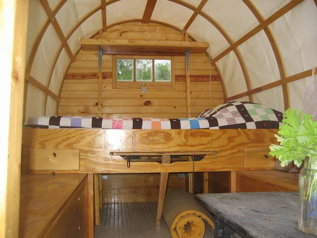 Inside the Wooly Wagon