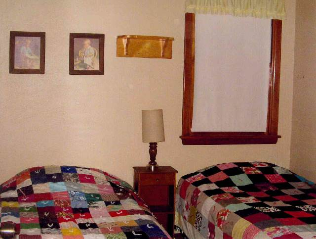 Main Floor Twin bedroom